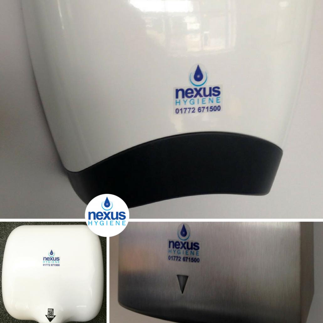 Warm Air Hand Dryers